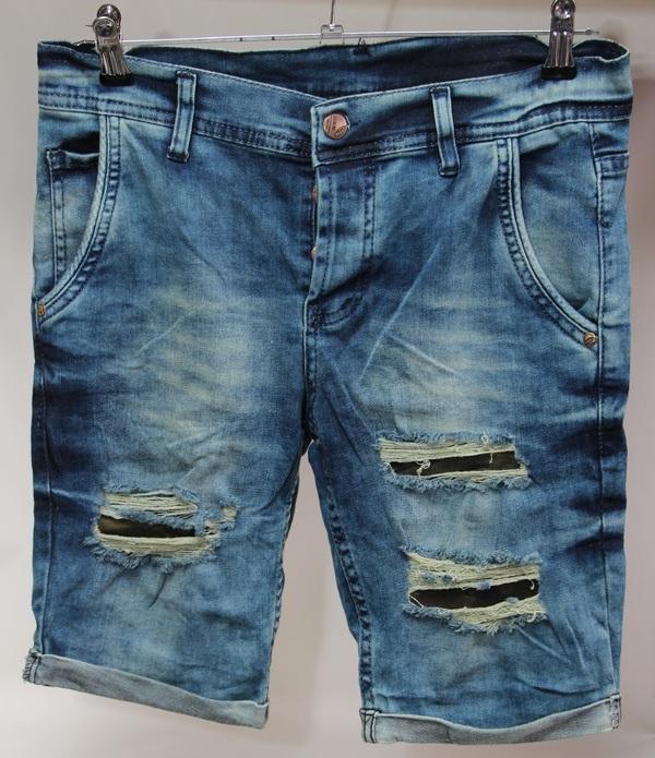 Шорты джинсовые мужские Турция оптом 2005531 065-01