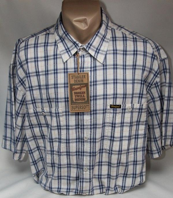 Рубашки мужские оптом  01044737 477