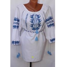 Вышитое платье женское оптом 1307782 014