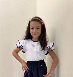 Блузки детские  оптом 07182364 206-6