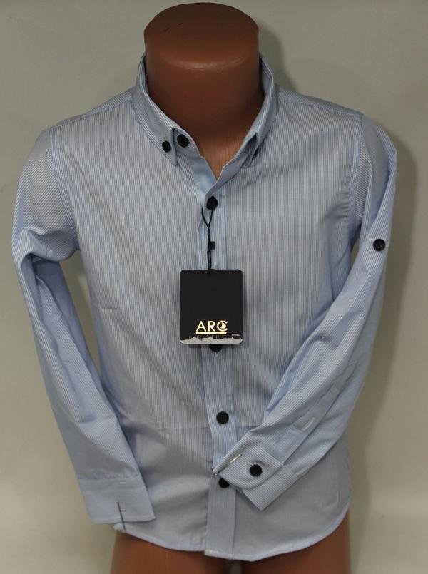 Рубашки детские оптом 27074721 9297-1