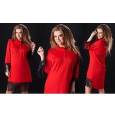 Платье женское БАТАЛ  оптом 04593687 848
