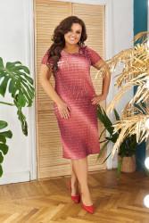 Платья женские БАТАЛ оптом 38256497 01-33