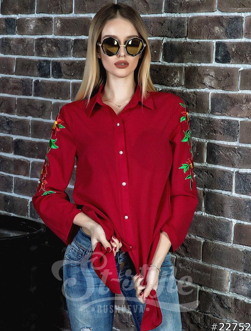 Рубашки женские оптом  18104780 32-14