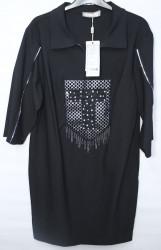 Платья женские AMONIAK БАТАЛ оптом Турция 67981324 502-78