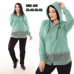 Спортивные костюмы БАТАЛ женские оптом 45187623 4453-8