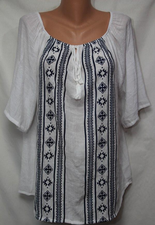 Блуза женская БАТАЛ оптом 18021410 237