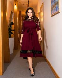 Платья женские БАТАЛ оптом 34896712 056 -5