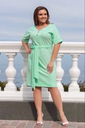Платья женские БАТАЛ оптом 25403697 06-9