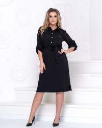 Платья женские БАТАЛ оптом 01685927  7081-2