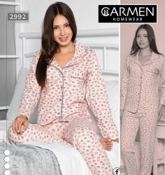 Ночные пижами женские GENARM HOMEWEAR оптом 95426718 2992-16