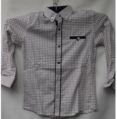 Рубашка подростковая оптом 08021095 6225