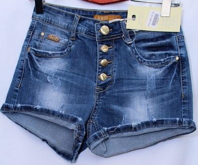 Шорты джинсовые женские X&Dоптом 60519432 6062