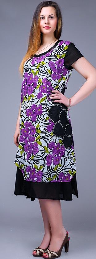 Платья женские Индия оптом 46185792 RI 1623-16
