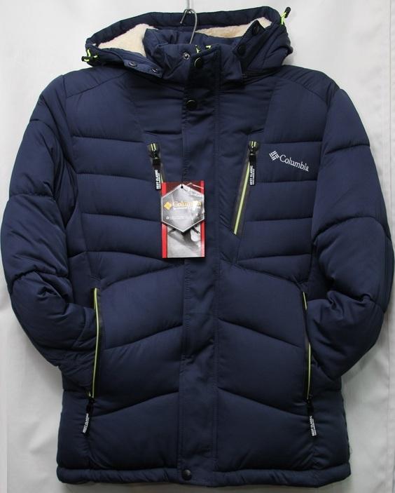 Куртки мужские тинсулейт зимние COLUMBIA  оптом 07081337 Y-10-1