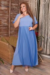 Платья женские БАТАЛ оптом 03452678 01  -3