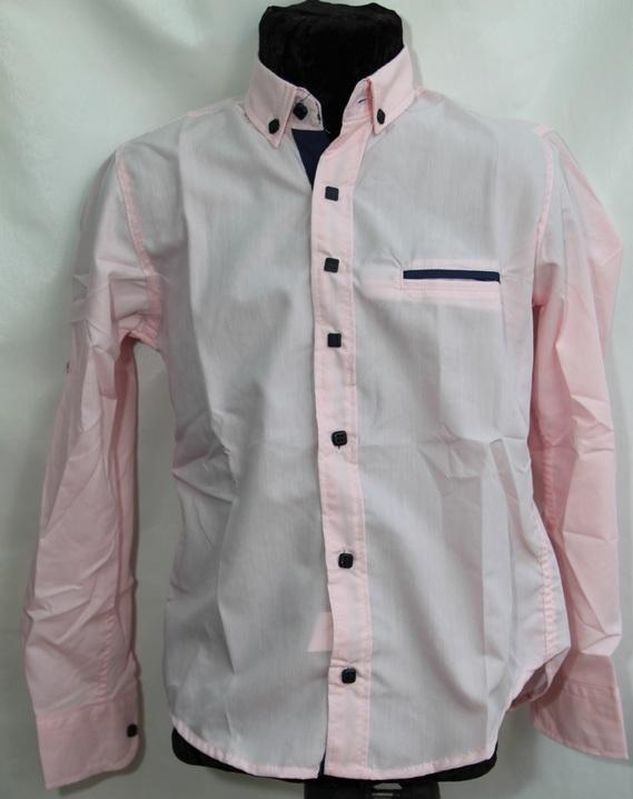 Рубашки подростковые  оптом 14527698 4629-138