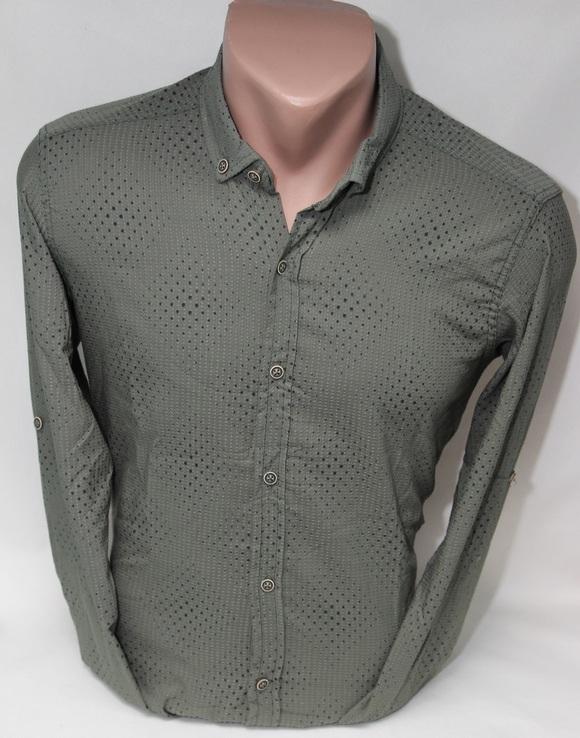 Рубашки мужские  оптом 54076831 9331-15