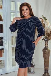 Платья женские БАТАЛ оптом 61093748 55  -11