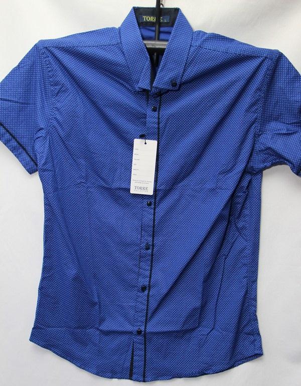 Рубашки мужские Турция оптом 2004523 3636-51