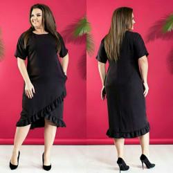 Платья женские БАТАЛ оптом 30456891  1234-2