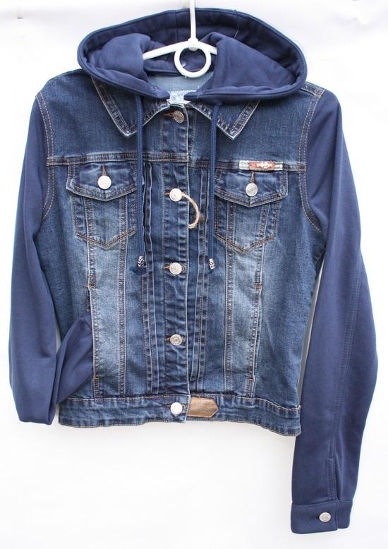 Куртки джинсовые женские оптом 68195740 931