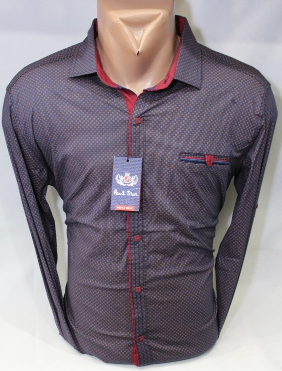 Рубашки PAUL STAR мужскиеТурция оптом 46152739