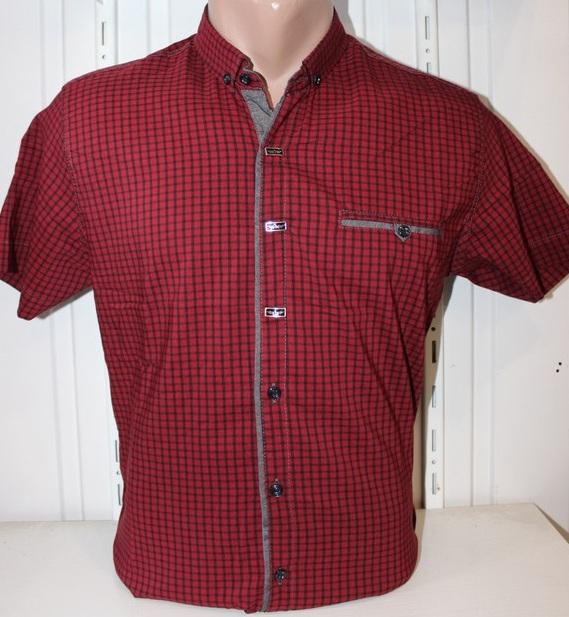 Рубашки мужские оптом 22061830 1725-4