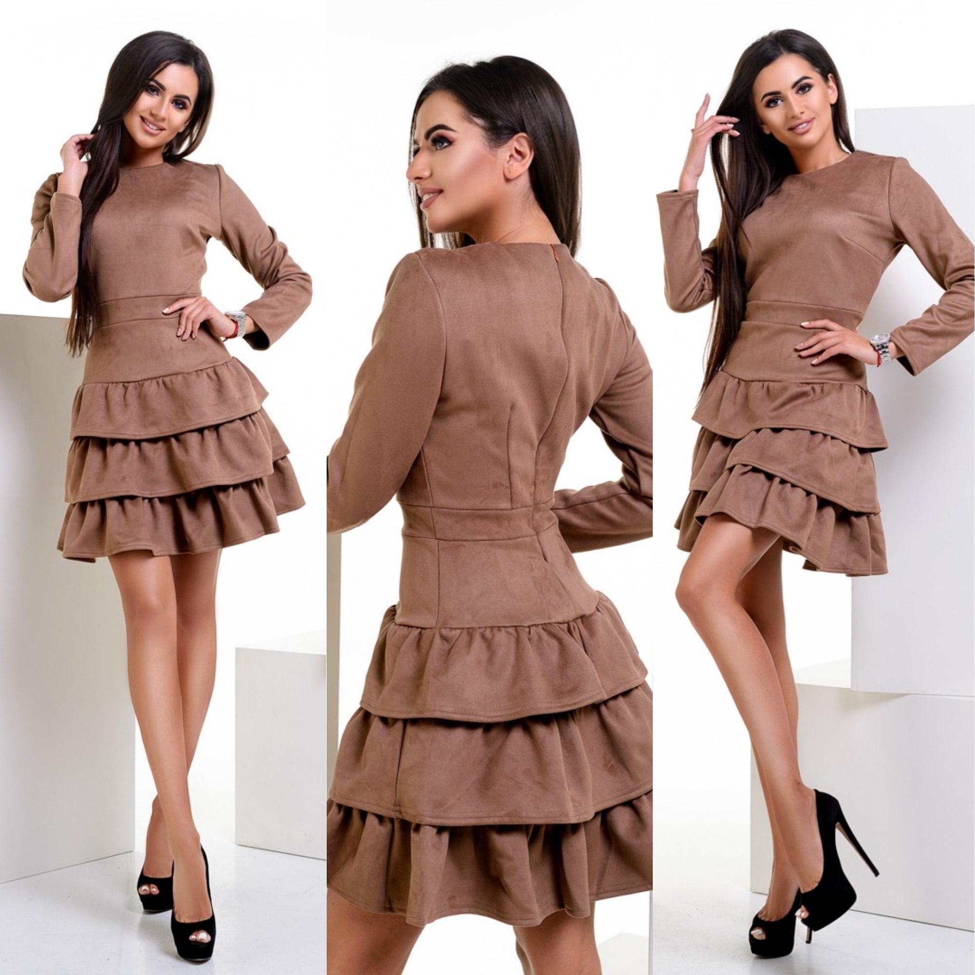 Платье женское оптом 63742018 043-2