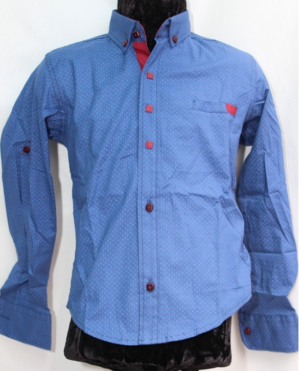 Рубашки подростковые  оптом 17071390 6445-148