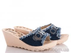 Шлепки, Makers Shoes оптом Джинс буквы