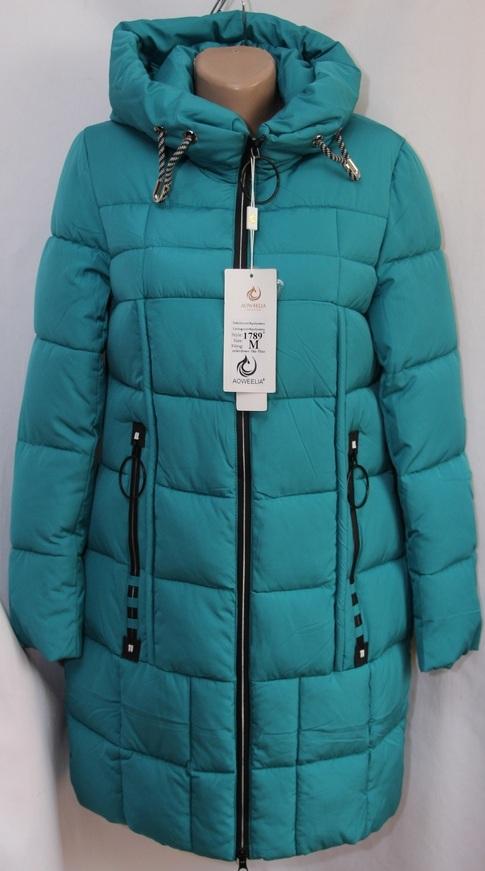 Куртки женские AOWEELIA оптом 19091209 1789