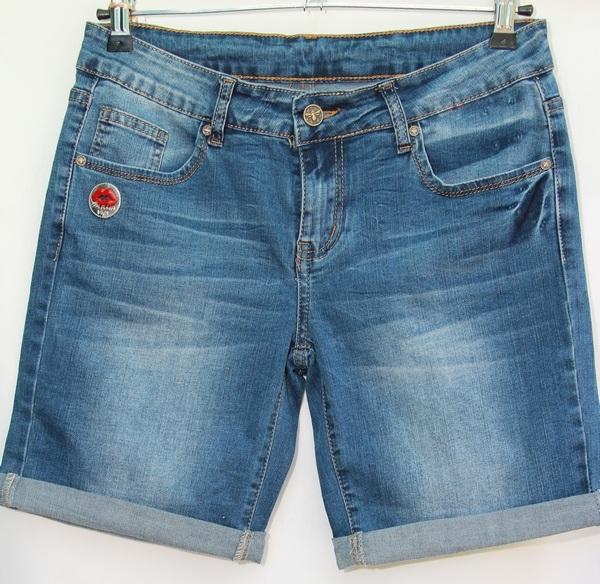 Шорты джинсовые женские NEW JEANS оптом 43192576 1314