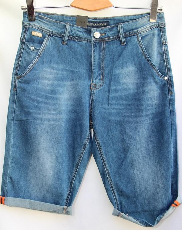 Шорты джинсовые мужские оптом 10061683 2848