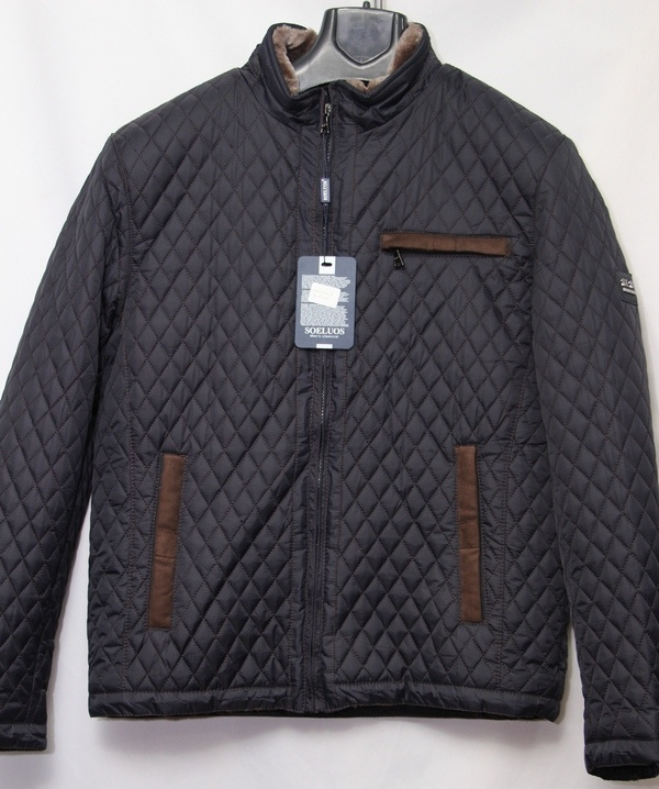 Куртка SOELUOS  зимняя мужская оптом 12845063 HQ 8030-A