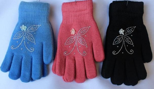 Перчатки подростковые оптом 50934186 С1626-1