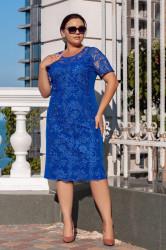 Платья женские БАТАЛ оптом 08962513  08-1