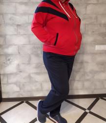 Спортивные костюмы женские БАТАЛ оптом 92506437  202-1