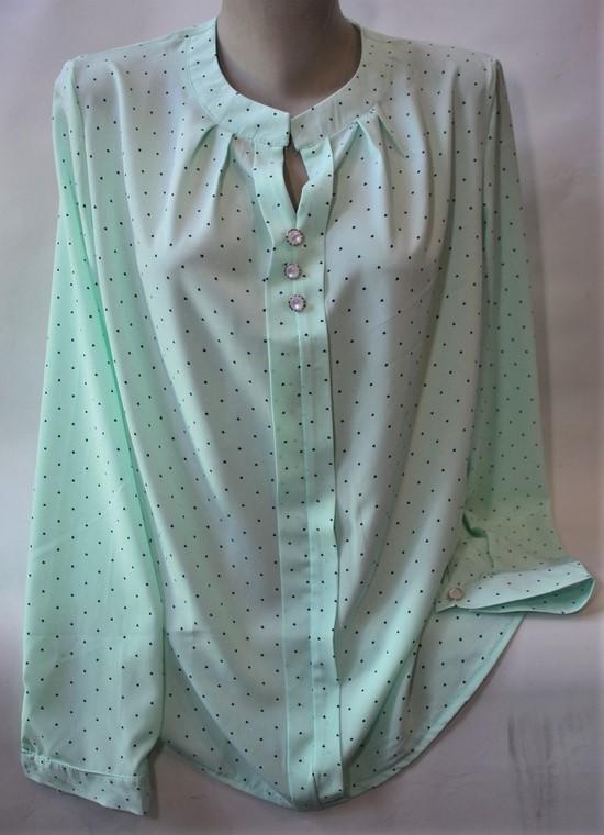 Рубашки женские ПОЛУБАТАЛ оптом 71863059 208-3