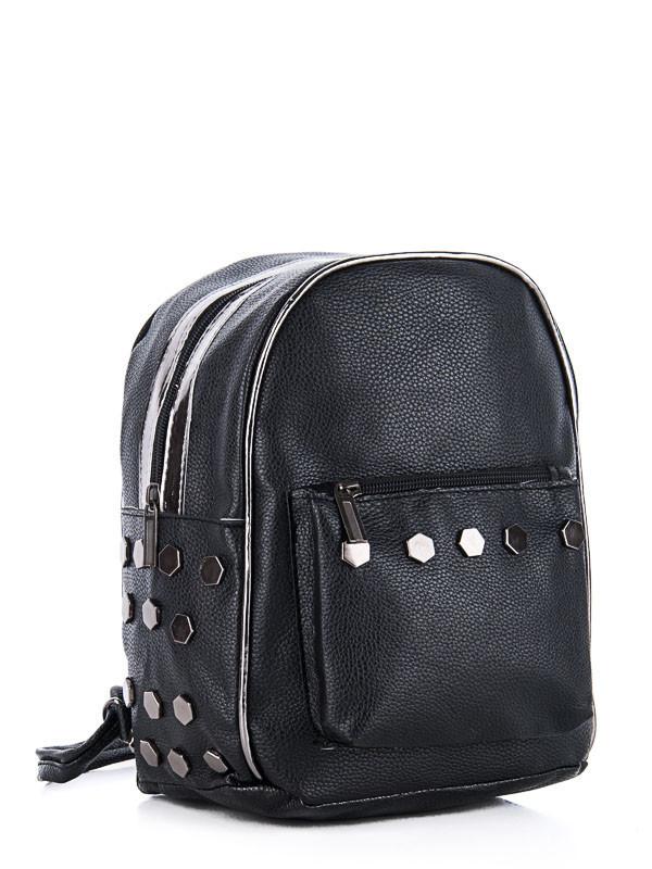 Рюкзаки женские DAVID POLO black оптом 17101605 27-3