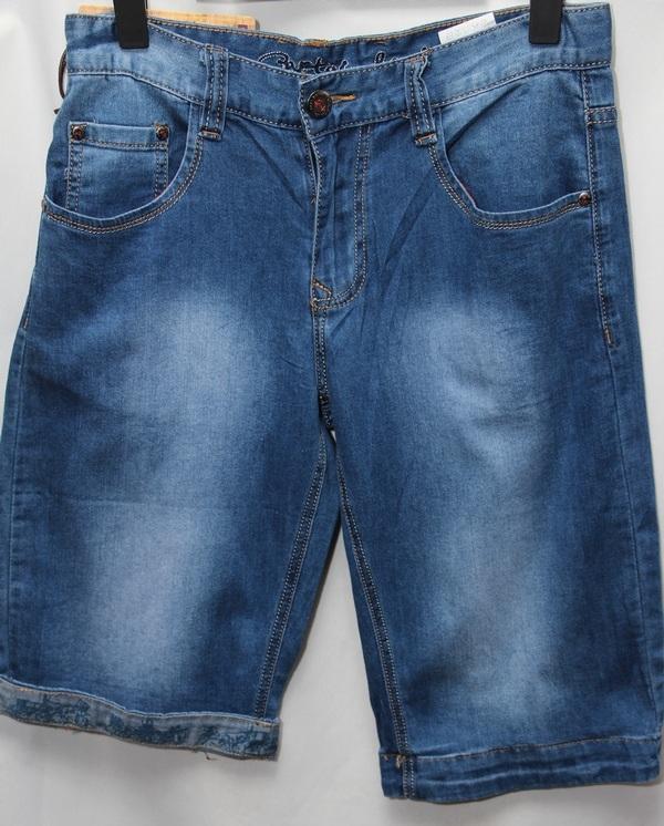 Шорты джинсовые мужские оптом 28530417 7320