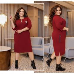 Платья женские БАТАЛ оптом 14389605 167-4