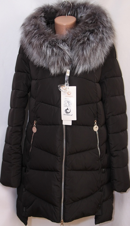 Куртки женские AOWEELIA оптом 19091209 8033