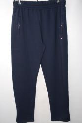 Спортивные штаны мужские на байке TOMYPARKER БАТАЛ оптом 10638724 5846-43
