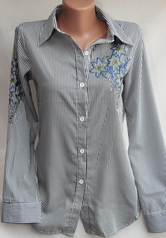 Рубашки женские оптом 17081056 18-3