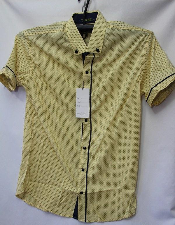 Рубашки мужские Турция оптом 2004523 3636-72