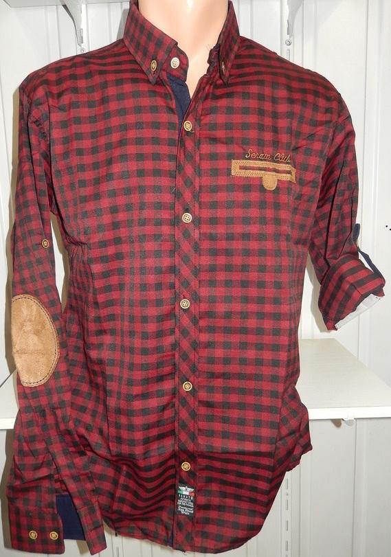 Рубашки мужские полу батал оптом 13081830 5210-8