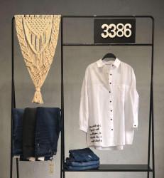 Рубашки женские оптом 45682173 01-8