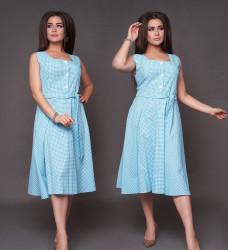 Платья женские БАТАЛ оптом 85346917  1085/1 -23