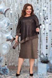 Платья женские БАТАЛ оптом 91350748 09-8